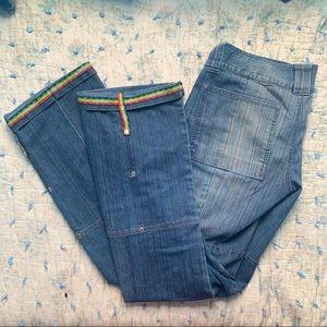 Vintage Rainbow jeans